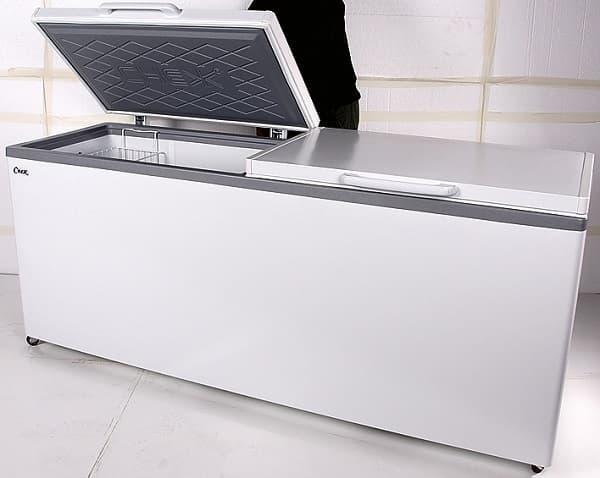 Ларь морозильный МЛК-800 нерж.