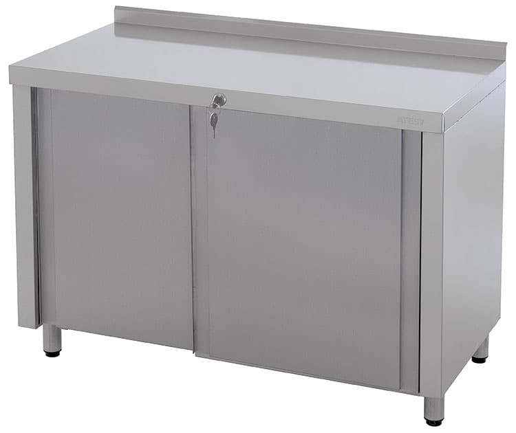 Стол технологический СТ-3/ 950/600 купе