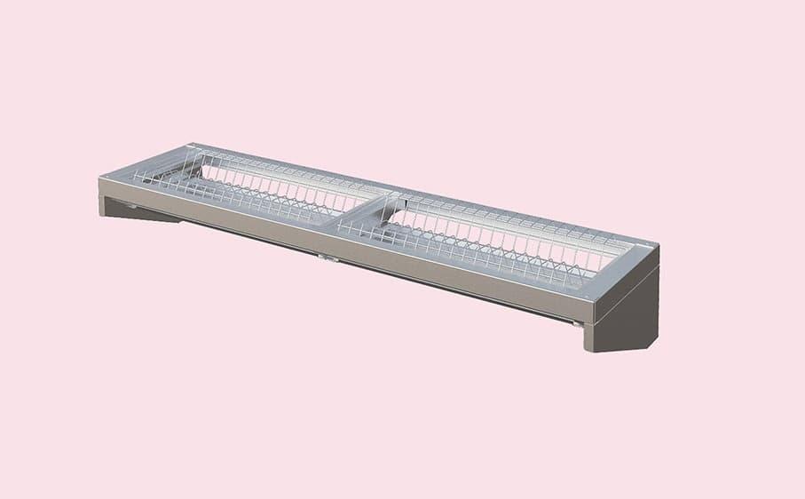 Полка кухонная для тарелок  ПКТ- 900-Э