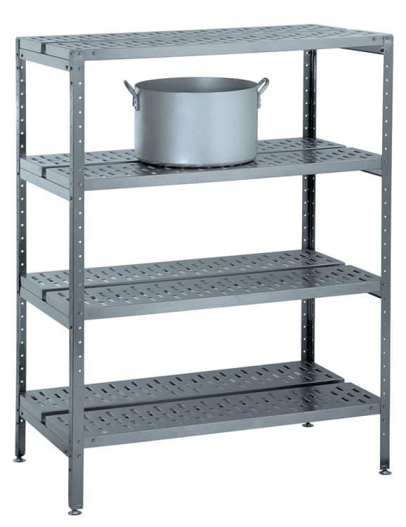 Стеллаж   кухонный решетчатый СТКН- 1200/650Р