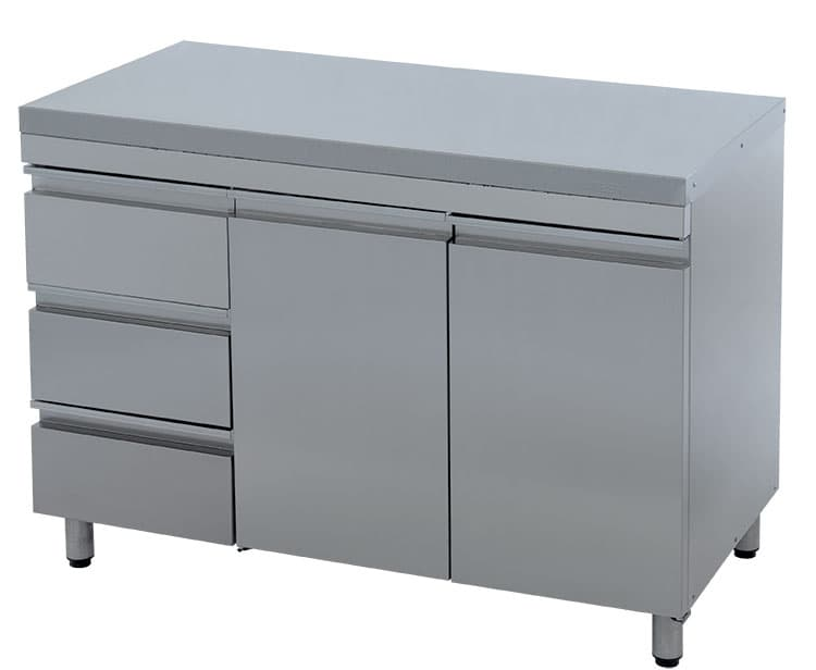 Стол технологический  СТ-2/1200/600 (с ящиками)