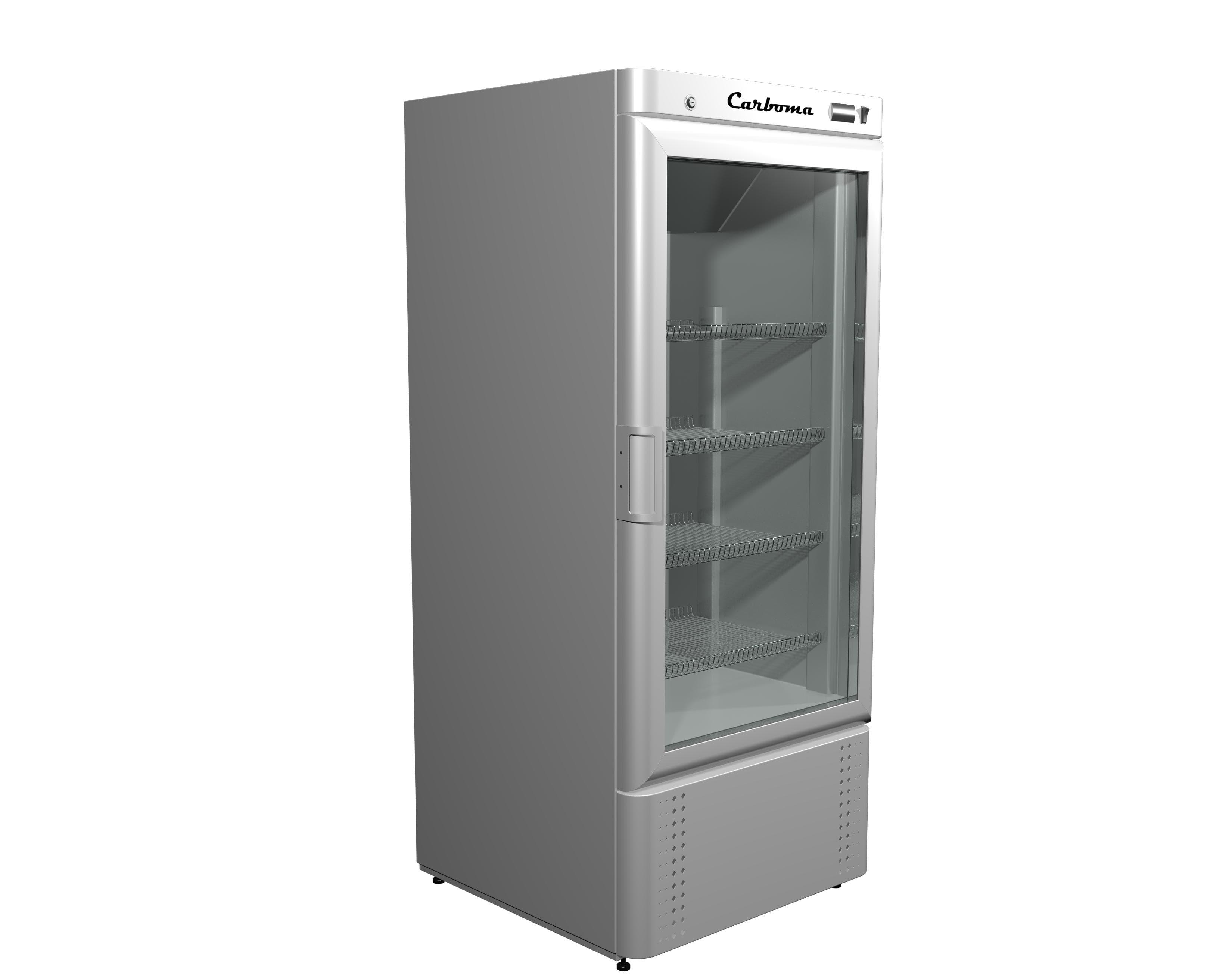 Шкаф холодильный Сarboma R560 С (стекло)