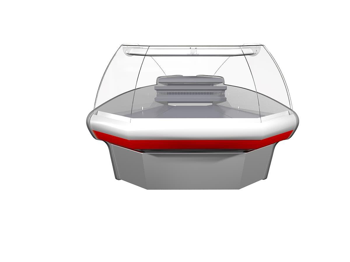 Витрина холодильная Carboma ВХСу-1  (угол внешний)