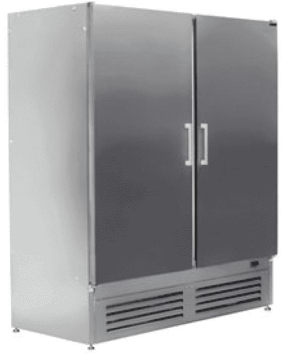 Шкаф морозильный ШНУП1ТУ-1,4М нерж.