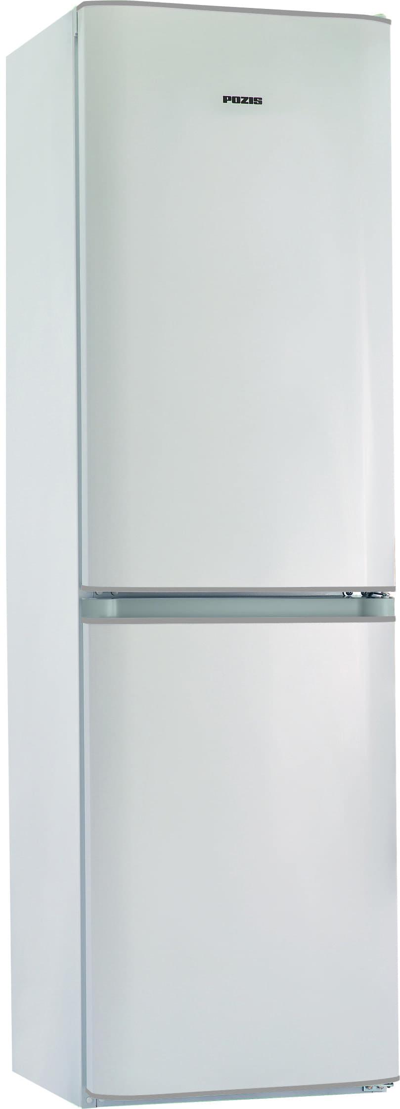 Шкаф холодильный RK FNF-172 белый с серебристыми накладками