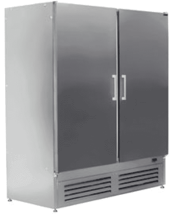 Шкаф холодильный ШВУП1ТУ-1,4М нерж.