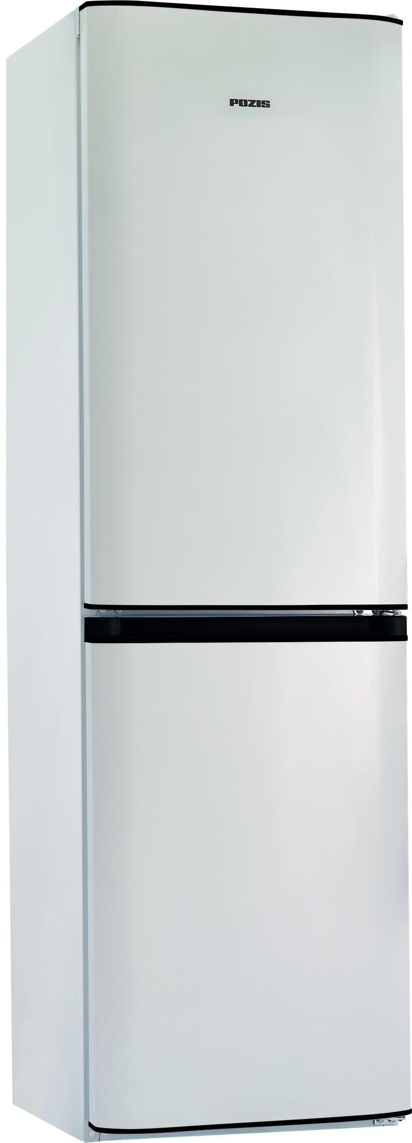 Шкаф холодильный RK FNF-172 белый с черными накладками