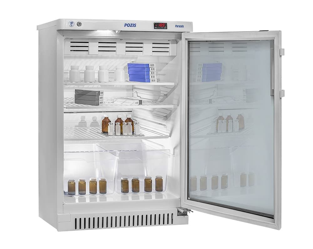 Шкаф фармацевтический ХФ-140-1 тонированное стекло