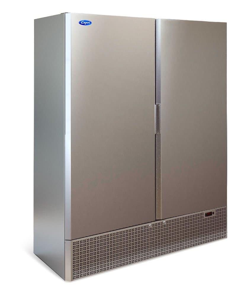 Шкаф холодильный Капри 1,5М (нержавейка)