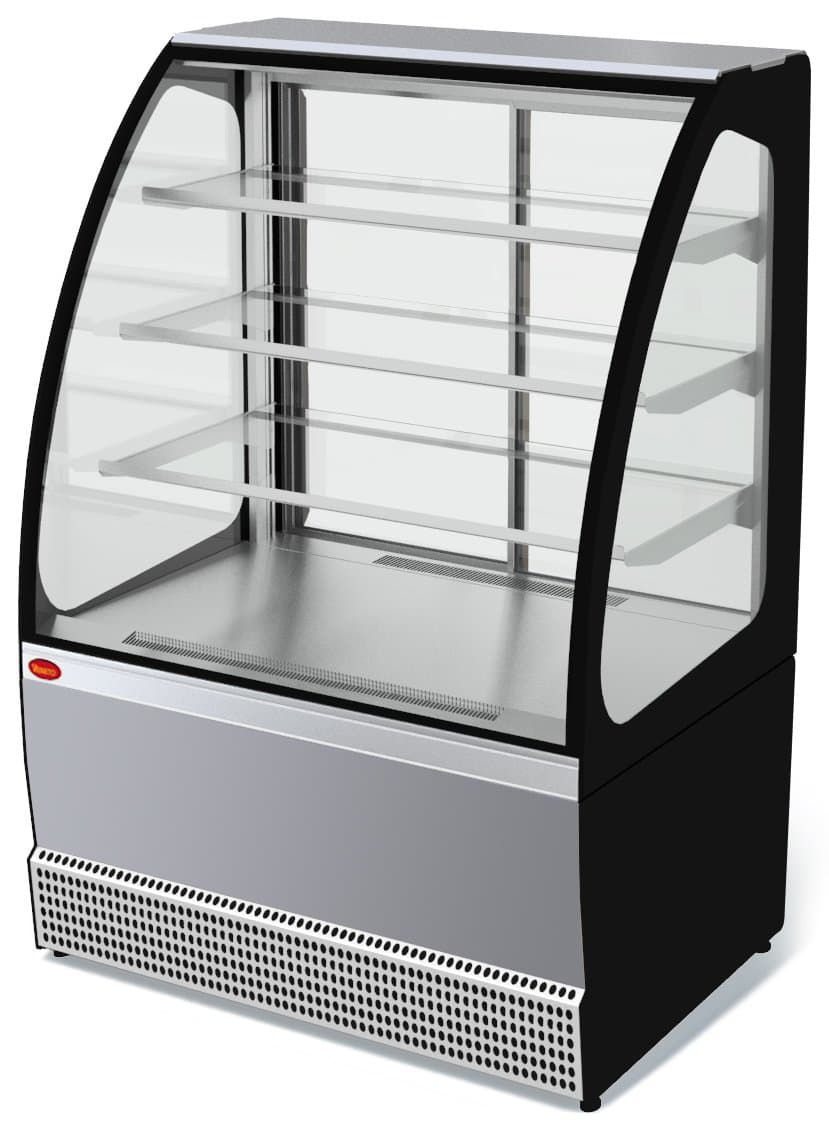 Витрина холодильная Veneto VS-0,95 (нерж.)