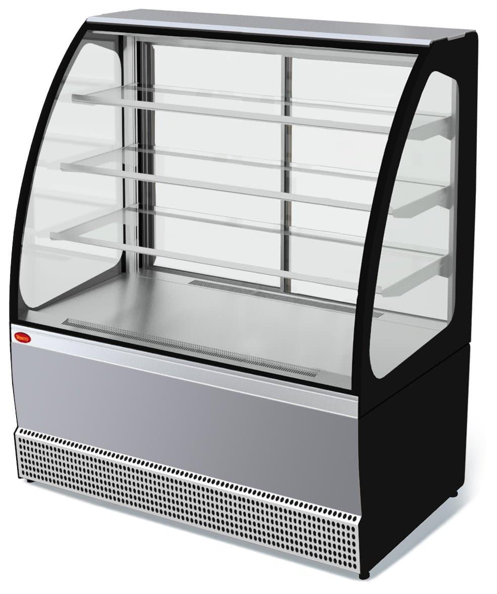 Витрина холодильная Veneto VS-1,3 (нерж.)