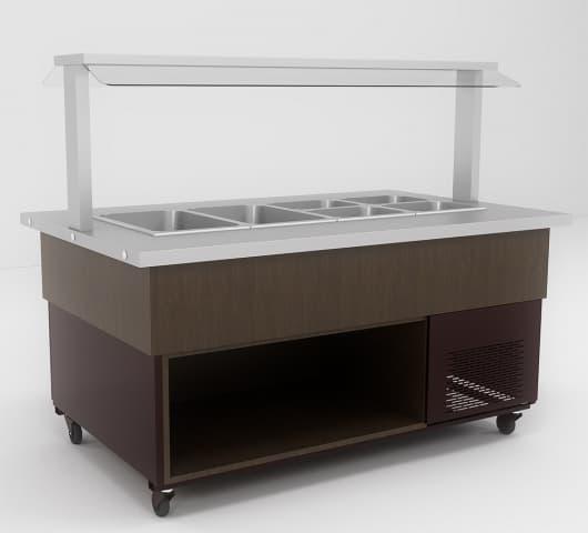 Холодильная витрина ВХС-1,6 Салат-бар