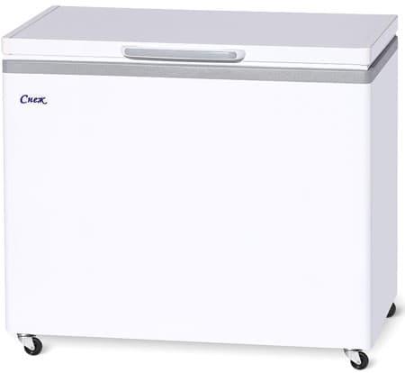 Ларь морозильный МЛК-350 нерж.