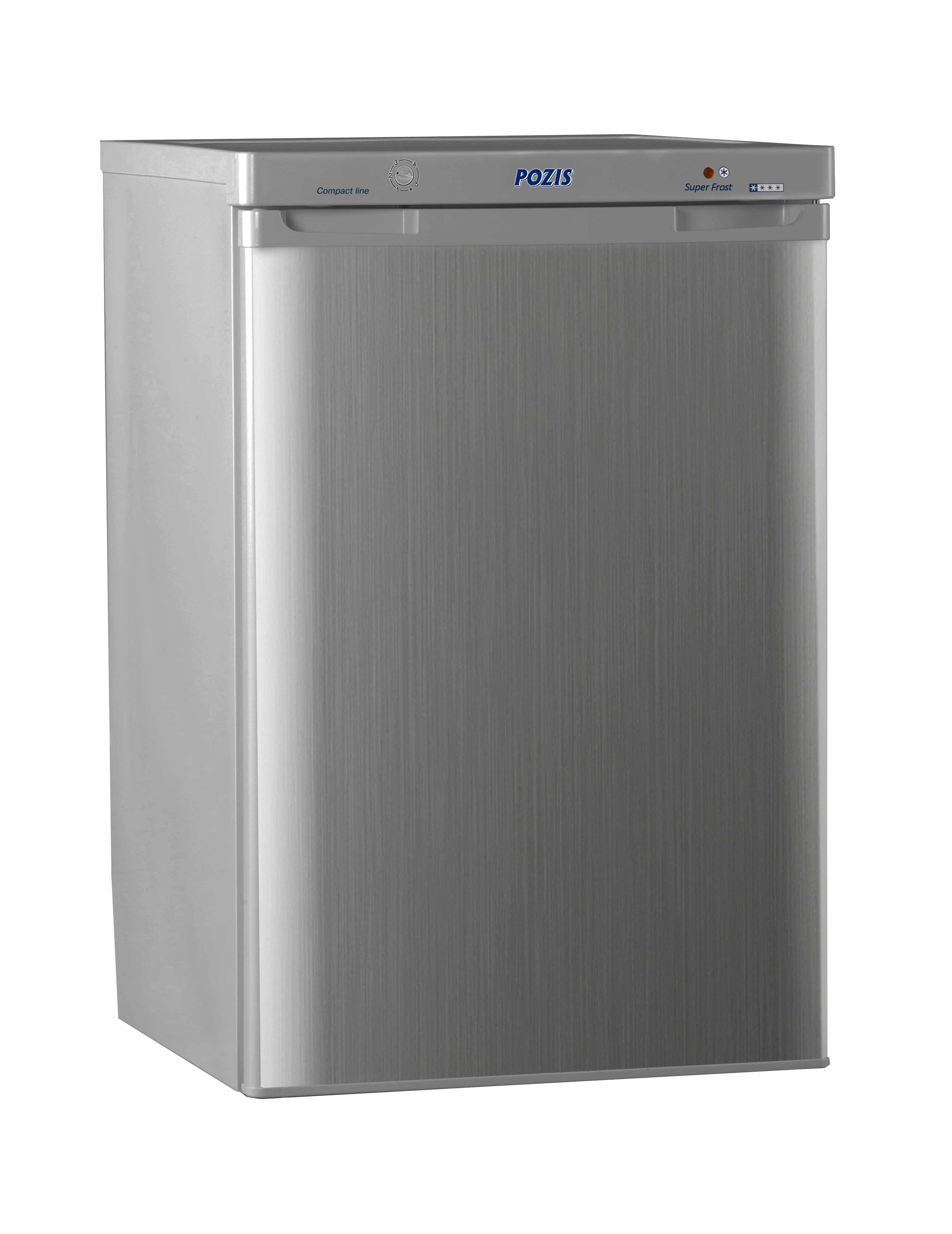 Шкаф морозильный FV-108 серебристый металлопласт