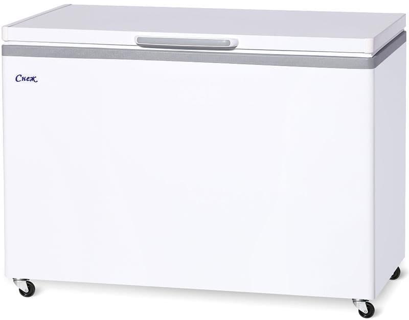 Ларь морозильный МЛК-400 нерж.
