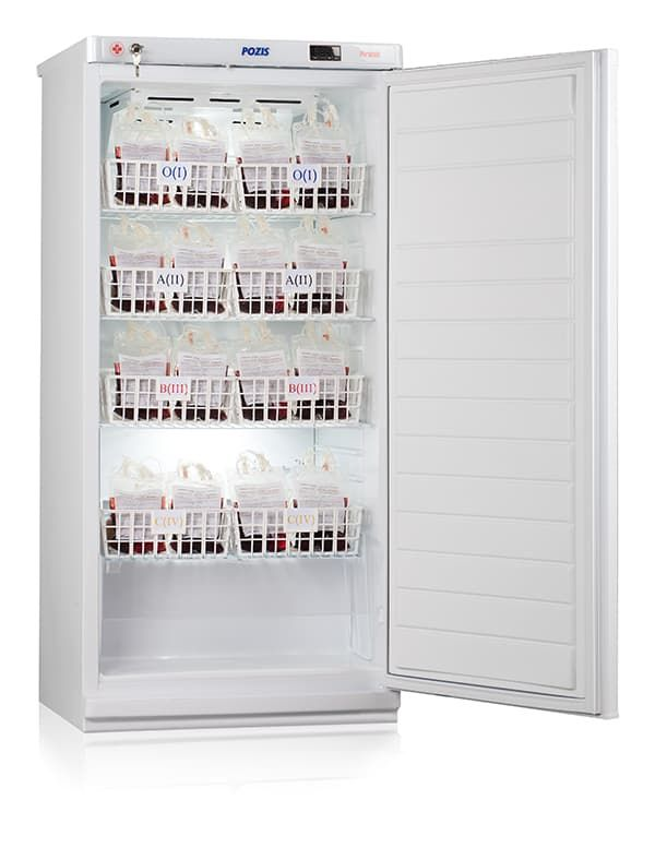 Шкаф холодильный для хранения крови ХК-250-1