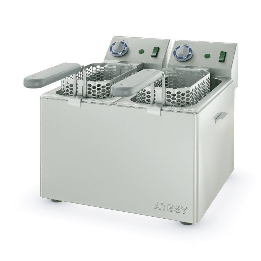 Электрофритюрница Панда-ЕВРО-2×1/3