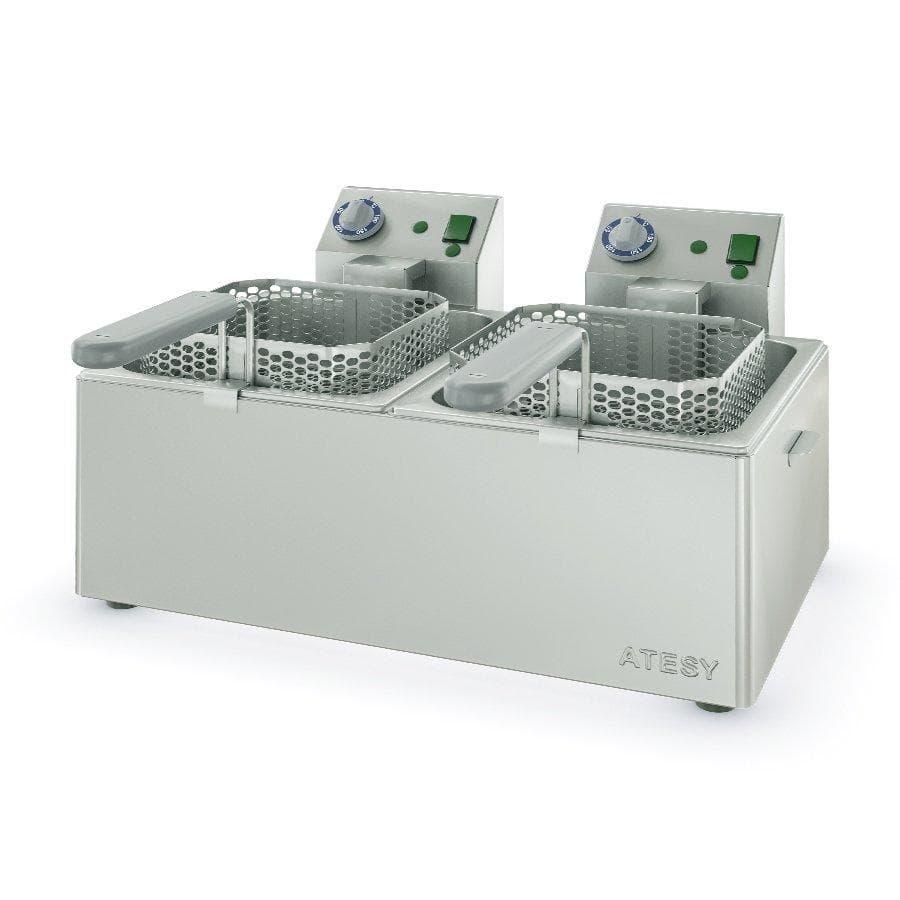 Электрофритюрница Панда-ЕВРО-2×1/2
