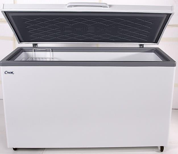 Ларь морозильный МЛК-500 нерж.