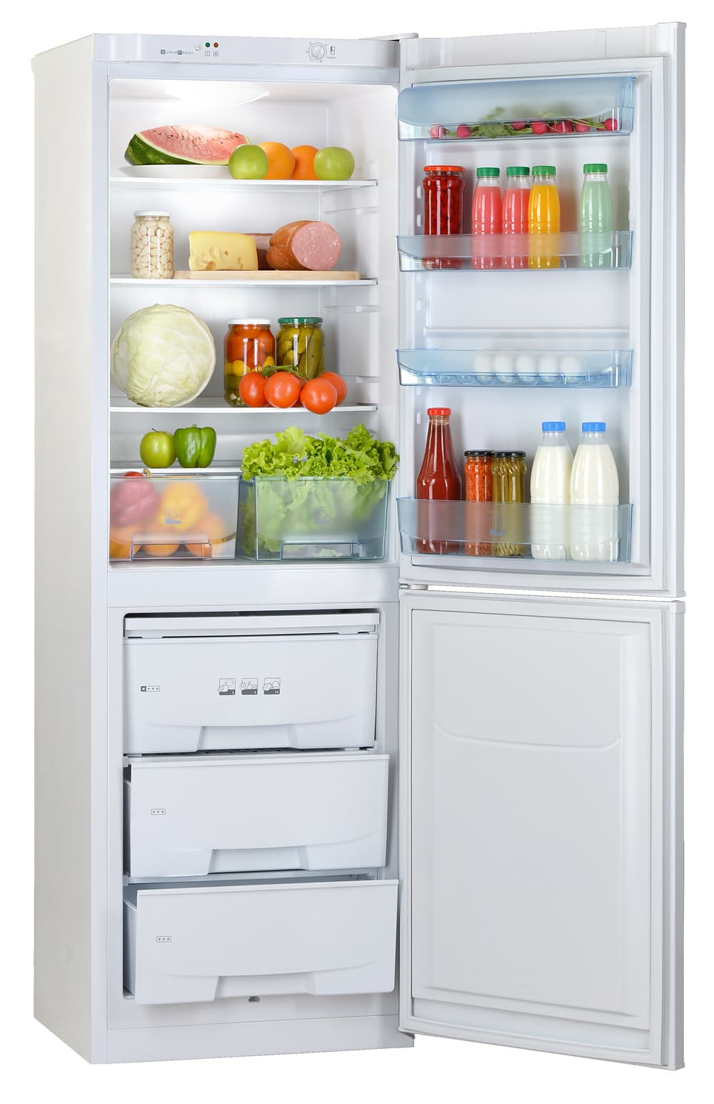 Шкаф холодильный RK-139 белый