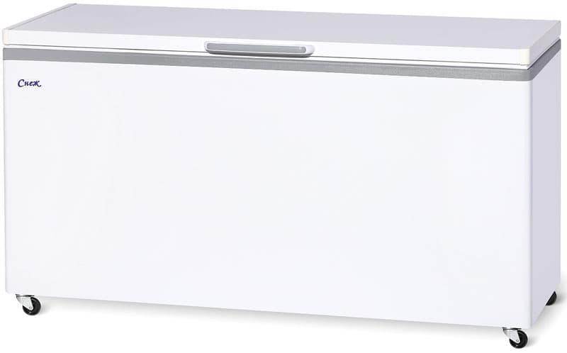 Ларь морозильный МЛК-600 нерж.
