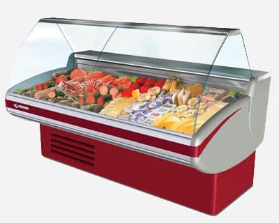 Витрина холодильная Gamma-2 1200 LED