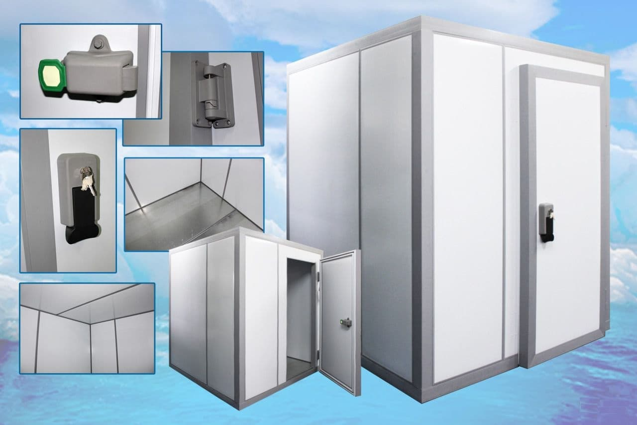 Камера холодильная МХМ КХН-62,21 1660×16360×2720