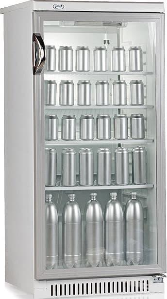 Шкаф холодильный Cвияга-513-6 серебристый