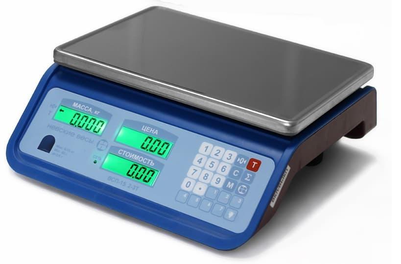 Торговые весы ВСП-15.2-3Т