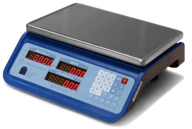 Торговые весы ВСП-15.2-3ТK
