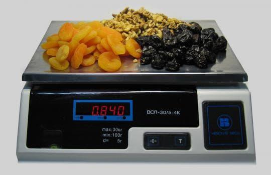 Фасовочные весы ВСП-6.2-4К