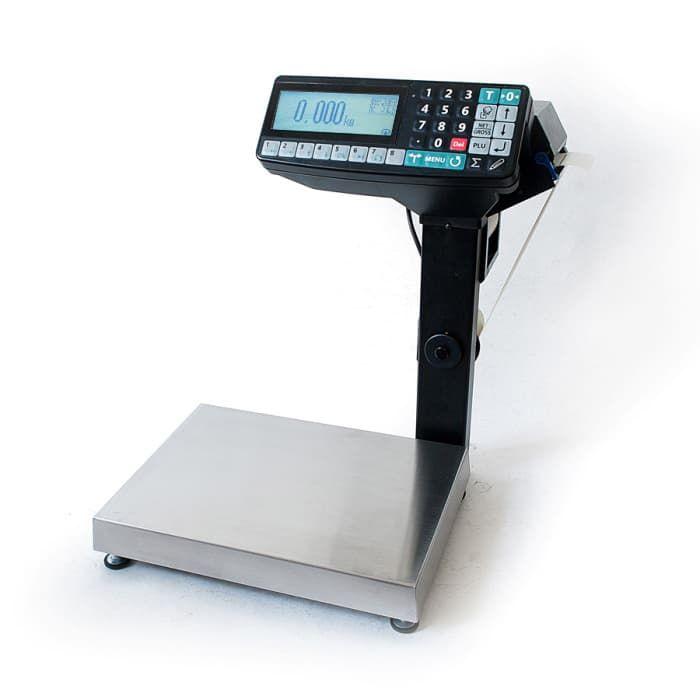 Торговые весы с печатью чека МК-15.2-RP10-1