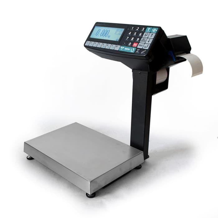 Торговые весы с печатью чека МК-15.2-R2P10