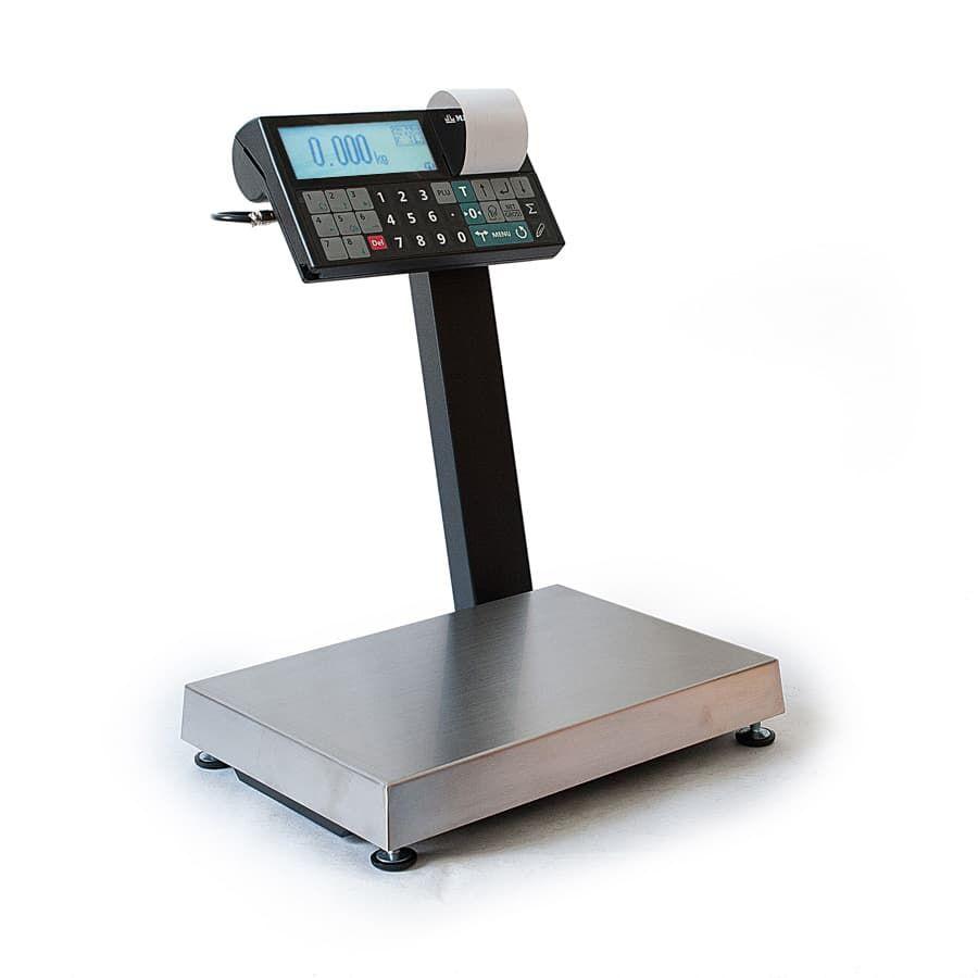 Торговые весы с печатью чека МК-6.2-RC11