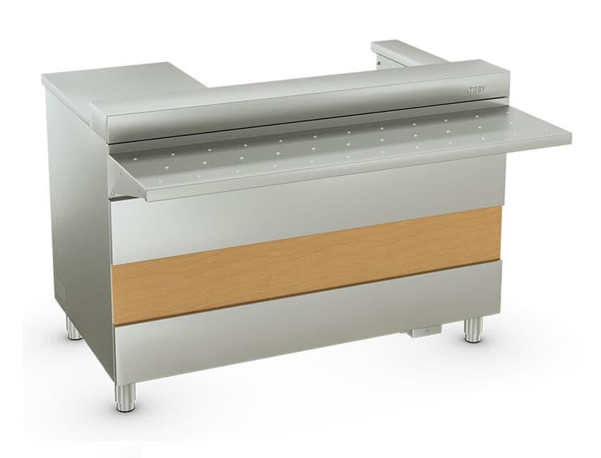 Кассовый стол с подлокотником