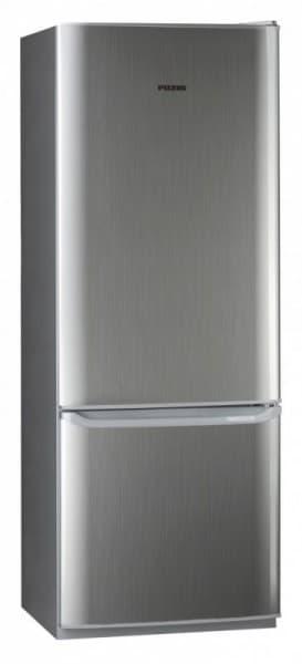 Шкаф холодильный RK-126 серебристый металлопласт