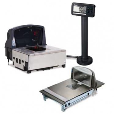 Встраиваемые торговые сканер-весы CAS PDS II-15D