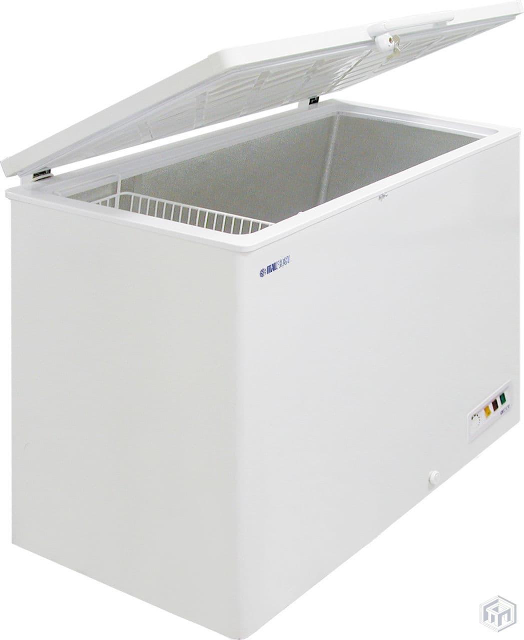 Морозильный ларь CF400S нерж