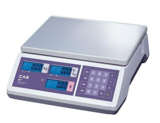 Весы торговые CAS ER JR-30CB